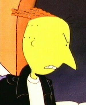 Roger Klotz e seu cabelo com Gel.